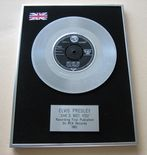 ELVIS PRESLEY - SHE'S NOT YOU PLATINUM Single Presentation Disc